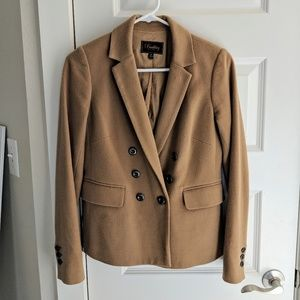 Madewell Double-breasted blazer, Camel, 0